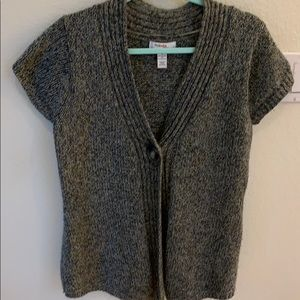 Style & Co short sleeved cardigan sweater